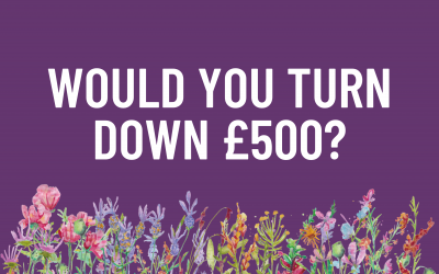 Would You Turn Down £500?